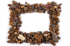 Frame of gravel Royalty Free Stock Images
