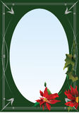 Frame for greeting card or photo Stock Images