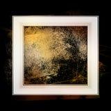 Frame grunge. Smudge and smear a brush in a frame, vector  background, illustration clip-art Stock Image