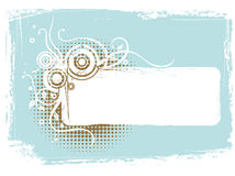 frame grunge vector Απεικόνιση αποθεμάτων