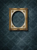 Frame at grunge wallpaper Royalty Free Stock Photo
