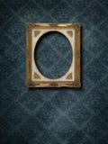 Frame at grunge wallpaper Royalty Free Stock Photo