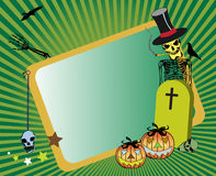 Frame for Halloween Royalty Free Stock Images