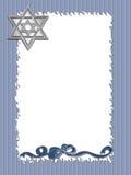 frame hanukkah Στοκ Εικόνα