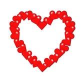 Frame heart Royalty Free Stock Photo
