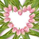 Frame Heart-shaped Eps 10 Imagens de Stock Royalty Free
