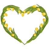 Frame Heart-shaped Eps 10 Imagem de Stock Royalty Free