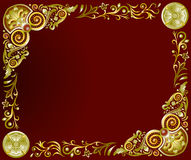 Frame horizontal Stock Image