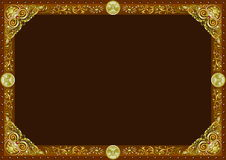 Frame horizontal Stock Photo