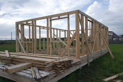Frame house royalty free stock photography