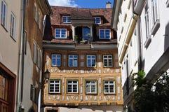 Frame house,Germany Stock Photo