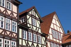 Frame_houses Imagens de Stock