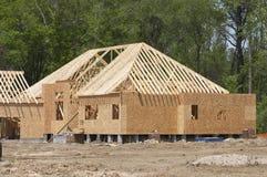 Frame huis Royalty-vrije Stock Foto