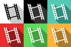 Frame icons Royalty Free Stock Photography