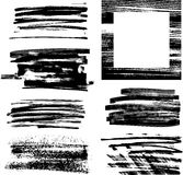 Frame III de Grunge ilustração do vetor