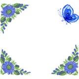 Frame. Illustration of frame in Ukrainian folk style vector illustration