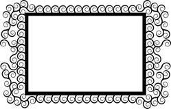 Frame illustration. Vector illustration of a ornamental frame Royalty Free Stock Photo