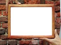 Free Frame In Hands Royalty Free Stock Photography - 997117