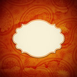 Frame in the Indian style Royalty Free Stock Photography