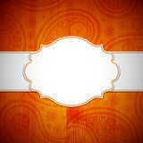 Frame in the Indian style Stock Image