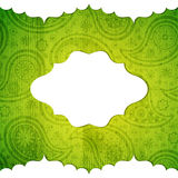 Frame in the Indian style Royalty Free Stock Photo