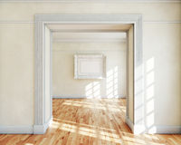 Frame in interior Stock Photography