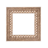 Frame isolated on a white background stone Royalty Free Stock Image