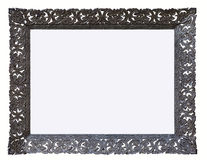 Frame. Isolated on white,picture  ,thai  style Royalty Free Stock Photo