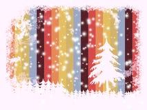 Frame kerstkaart, royalty-vrije illustratie
