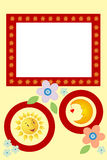 Frame for kids Royalty Free Stock Photography