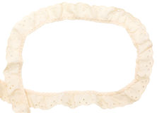 The frame with lace Royalty Free Stock Photos