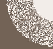 Frame lace-like Royalty Free Stock Image