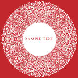 Frame lace-like Royalty Free Stock Photos