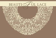 Frame lace-like Stock Photos