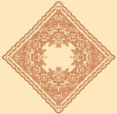 Frame lace-like Royalty Free Stock Image