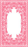 Frame lace-like Royalty Free Stock Photography