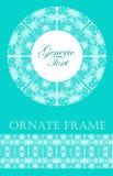 Frame lace-like Stock Photography