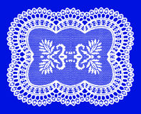 Frame lace-like Stock Images