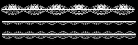Frame lace-like Stock Photos
