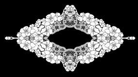 Frame lace-like Royalty Free Stock Photo