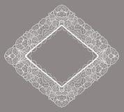 Frame lace-like Stock Image