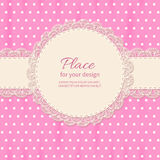 Frame lace Stock Photography