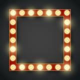 Frame lamp Royalty Free Stock Photo