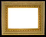 Frame largo do ouro da borda Fotografia de Stock