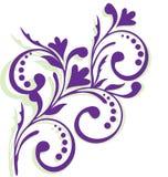 Frame with lavender flowers. Border, wedding, flower invitation royalty free illustration