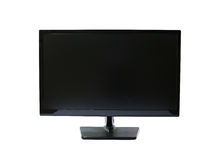Frame LED computer screen (monitor) on white background. Stock Image
