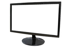 Frame LED computer screen. Royalty Free Stock Images