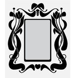 Frame like Art-Nouveau Stock Images