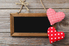 Frame with love heart Royalty Free Stock Photo