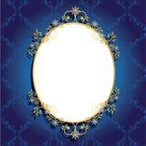 Frame luxuoso Imagem de Stock Royalty Free